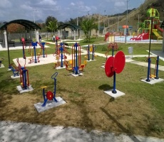 Outdoor Exercise Fitness Equipment