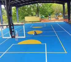 Sport Flooring Acrylic Surfacing